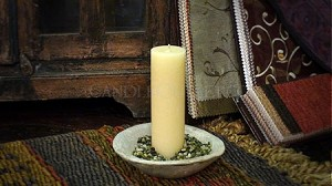 "2""x6"" Unscented Pillar Candle"