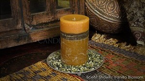 "4""x6"" Scented Pillar Candle"