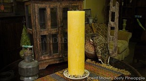"6""x24"" Scented Pillar Candle"