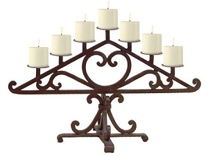 Table Candelabra #34