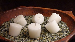 Cylinder Candle Inserts - Set of 6